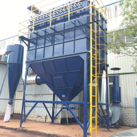 Pleated Bag Dust Collector System
